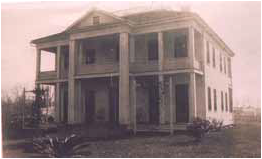Original Perkins home on Shell Beach Drive near Park Avenue, courtesy Dr. Allen Perkins